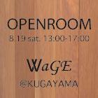 WaGE@KUGAYAMA